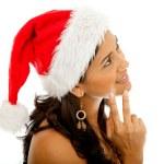 Santa woman — Stock Photo #7740749