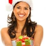 Santa woman — Stock Photo #7740752