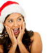 Christmas woman — Stock Photo #7740765