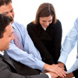 Business team work — Stock Photo #7740992