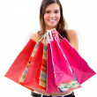 Woman with bags — Stock Photo #7740997