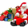 Santa with gifts — Stock Photo #7741046