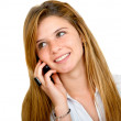 Girl on the phone — Stock Photo #7741078