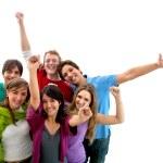 Happy group of — Stock Photo #7741096