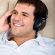 Man with headphones — Stock Photo #7741153