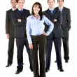 Business woman leader — Stock Photo #7741180