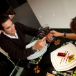 Romantic dinner - Foto Stock