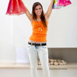 Happy shopper — Stock Photo #7741407
