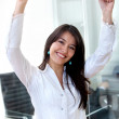 Business woman success — Stock Photo