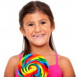 Royalty-Free Stock Photo: Girl with a candy