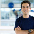 Male at the gym — Stock Photo #7741712
