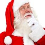 Santa pensive — Stock Photo #7741788