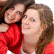 Female friends portrait — Stock Photo