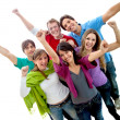 Happy group of friends — Stock Photo #7741892