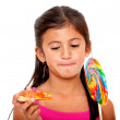 Kid eating — Stock Photo