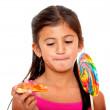 Kid eating — Stock Photo