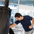 Man boxing - Stock Photo