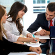 Business in a meeting — Stock Photo #7742033