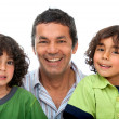 Father and sons — Stock Photo #7742043