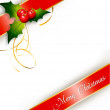 Merry Christmas card — Foto Stock