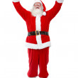 Happy Santa Claus — Stock Photo