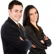 Business couple — Stock Photo #7742357