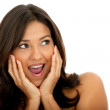 Surprised woman — Stock Photo #7742417