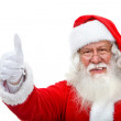 Stock Photo: Santwith thumbs up