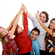 Happy group of friends — Stock Photo #7742568