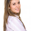 Young business woman — Foto de Stock