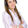 Customer support operator — Stock Photo #7742730