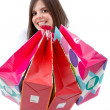 Shopping woman — Stockfoto
