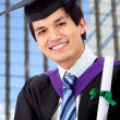 Royalty-Free Stock Photo: Male graduation portrait
