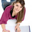 Beautiful student — Stock Photo #7743235