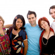Happy group of friends — Stock Photo #7744688