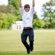 Man jumping — Stock Photo