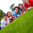 Group of friends — Stock Photo #7744729