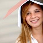 Beautiful student — Stock Photo
