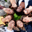circle of friends — Stock Photo