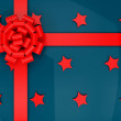 Wrapped gift — Stockfoto