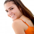 Beautiful girl smiling — Stock Photo