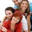 Happy group of friends — Stock Photo #7744914