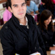 Male student at the university — Stock Photo