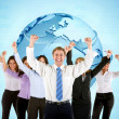 Successful worldwide business - Stock Photo