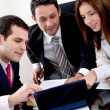 Business group working — Stock Photo