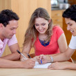 Meeting at home — Stock Photo #7745035