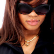 Fashion woman with sunglasses - Stock fotografie