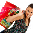 Shopping woman — Stock Photo #7745865