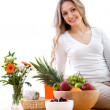 Healthy eating woman — Stock Photo #7745929