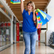 Happy shopping woman — Stock Photo #7745981